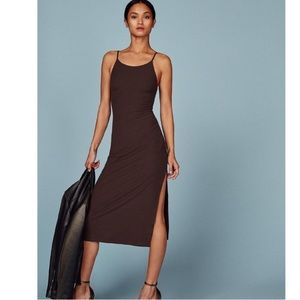 BNWT Reformation Sterling Midi Dress Cafe XS